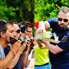 Summer alpine parties.... perfect place for a shot ski