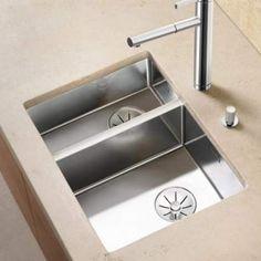 Blanco CLARON 340/180-U Steelart Elements Undermount Kitchen Sink