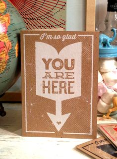 YOU ARE HERE - Telegramme Studio