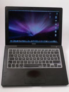 ♥ Apple MAC BOOK 13 inkl Office Ilife Iweb schwarz Mag Safe 2 Black OSX 10.5.8 in Computer, Tablets & Netzwerk, Notebooks & Netbooks, Apple Notebooks | eBay