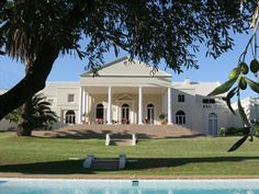 Cascade Country Manor - Paarl Cape Dutch, Mansions, Country, Architecture, House Styles, Building, Home Decor, Manor Houses, Rural Area