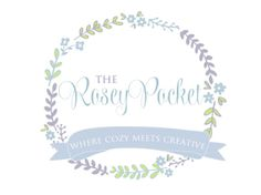 Custom Logo Design Premade Logo and Watermark for Photographers and Small Crafty Business Shabby Chic Floral Wreath Laurel with Banner