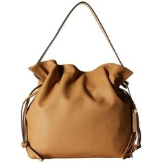 Vince Camuto Linny Hobo (Nude) Hobo Handbags ($223) ❤ liked on Polyvore featuring bags, handbags, shoulder bags, leather hobo handbags, leather shoulder handbags, man bag, leather purse and leather hobo shoulder bag