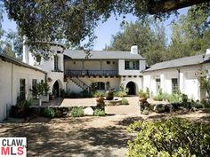 Reese Witherspoon's Ojai ranch exterior