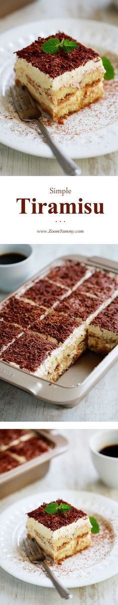 Tiramisu is one the most famous Italian desserts. It's literal translation is 'pick me up' for the coffee that it contains. With its luscious layers of whipped cream, sweetened mascarpone mixture and ladyfingers softened by their dip in liqueur-spiked esspresso, it is a dream of a dessert indeed.     There are many versions of ... Read more...