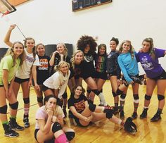 The Fenton varsity volleyball team reminding everyone it's Socktober!! Please contribute by bringing in a pair of socks to SRT!(: