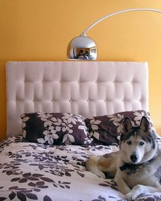 Tufted headboard