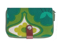 Wallet  in authentic vintage fabric by MESIMU on Etsy, $26.50