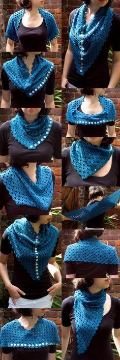 Ein Schal, viele Möglichkeiten!