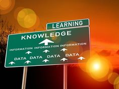 Graphic on knowledge and learning
