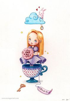 Alice in Wonderland by Rosse on deviantART