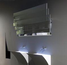 "by Antonio Lupi: mirror ""Segreto""."