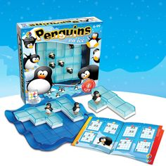 Penguins on Ice is part of the coding resources, tools, and games at Burke's