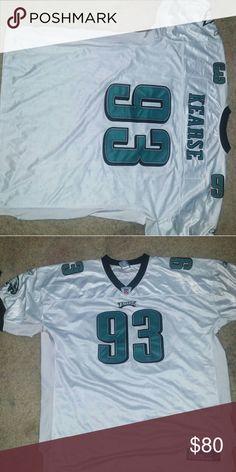 Football jersey Original authentic Jevon Kearse NFL White Eagles Jersey rebok Other