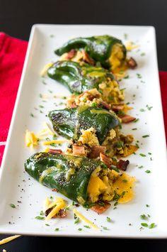 Breakfast Chile Rellenos