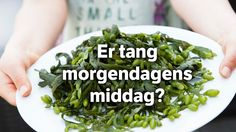 – For fem år siden var ingen som trodde du kunne spise dette. Seaweed Salad, Spinach, Vegetables, Ethnic Recipes, Food, Veggies, Vegetable Recipes, Meals, Yemek