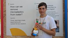 A Teen Scientist Figured out How to Suck Microplastics from the Ocean. There May Be Hope for Humanity. Going To University, University Of Arizona, Save Planet Earth, Save The Planet, Ocean Pollution, Plastic Pollution, Physical Properties, Change Maker, Our Solar System