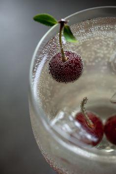 Summer Cherry Spritzer