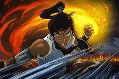 My favorite picture of The Last Airbender: Legend of Korra. Can't wait for this show!!!