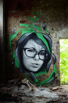 Street Art Works by Sasha Corban