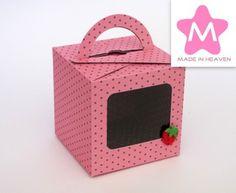 Maleta Strawberry & Chocolate 10x10x10cm