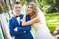 Свадьба для красивой пары.