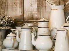 who doesn't love white enamelware