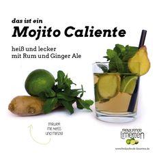 Das ist der Mojito Caliente von freilaufende Limetten.
