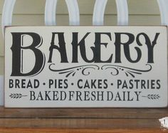 French bakery sign | Etsy