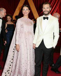 Jamie Dornan Model Actor Fifty Shades Darker Freed Fifty Shades of Grey Oscars 2017 Millie Amelia warner
