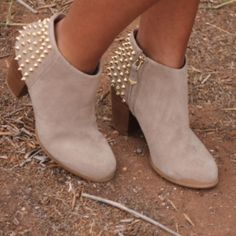 Zara Boots - LOOKING FOR THESE ZARA SUEDE STUDDED BOOTS SIZE 6