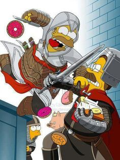 Assassin's Creed: The Simpsons.
