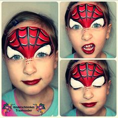 Galerie Face And Body, Body Art, Carnival, Painting, Lighthouse, Spiderman, Kids Makeup, Spider Man, Light House