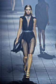 Lanvin at Paris Fashion Week Spring 2012 #runway