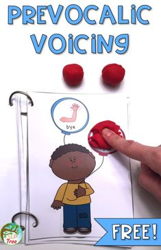Minimal pairs phonology speech therapy activity for prevocalic voicing. Auditory discrimination free pop the balloons. Articulation Therapy, Articulation Activities, Speech Therapy Activities, Speech Pathology, Speech Language Pathology, Speech And Language, Phonological Processes, Play Therapy Techniques, Therapy Ideas