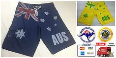 Mens #australian #board shorts #australia day beach surf #swimming souvenir flag n,  View more on the LINK: http://www.zeppy.io/product/gb/2/151227195798/