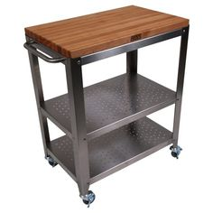 I pinned this Culinarte Kitchen Cart from the Chef Marcel Vigneron event at Joss and Main! $518.95