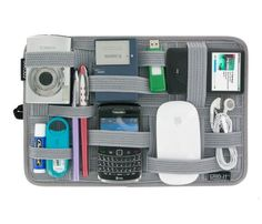 grid it ultimate tech organizer gifts for travelerstravel giftstravel gadgetstech gadgetscool