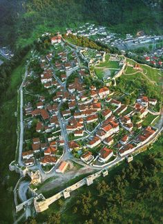 Berat, Albania.  Berat is a museum city that has been put under UNESCO World Heritage protection. It is also one of the oldest towns in Albania.