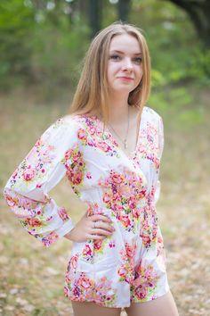 805534307d35 22 Best Floral Bridesmaids Romper   Jumpsuit Sets images