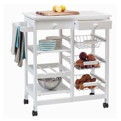 Image for Tile Top Kitchen Trolley from Kmart