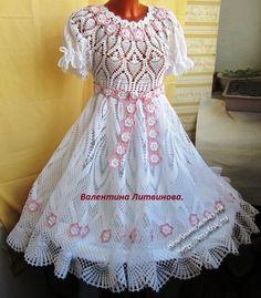 Платье «Жемчужинка» выпускное, бальное.  Автор Валентина Литвинова.