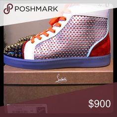 Christian Louboutin's Authentic Christian Louboutin designer shoe ready for the runway.. officially bought from the Christian Louboutin store in Buckhead Atlanta.. email me at shernandez1583@gmail.com.......OBO give me your best offer! Christian Louboutin Shoes Sneakers