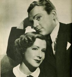 """James cagney and Mae Clarke in """"Gret Guy"""" Hollywood Stars, Classic Hollywood, Hollywood Actresses, Actors & Actresses, Gloria Dehaven, James Cagney, Movie Magazine, Bride Of Frankenstein, Child Actors"""