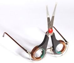 23 Unusual Upcycled Eyeglasses... some beyond unusual and just plain strange!