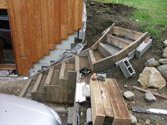 J'ai finalement décidé de faire un article spécialement pour vous présenter la construction de l'escalier extérieur. Depuis le passage de la pelleteuse nous sommes contraints de passer par le garage alors il était temps de refaire un escalier. Et après...