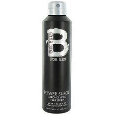 Tigi B for Men Power Surge Strong Hold Hairspray