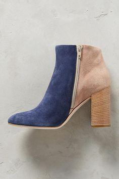 Slide View: 3: Paola Ferri By Alba Moda Colorblock Boots