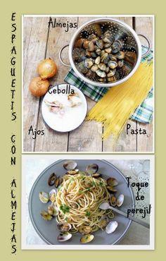 Espaguetis & almejas