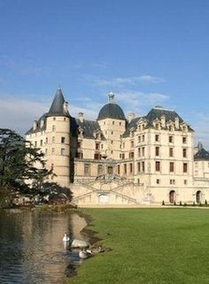 Chateau de Vizille - France. For when I win the lottery.